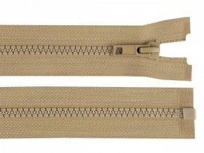 Kostěný zip šíře 5 mm délka 45 cm / více barev