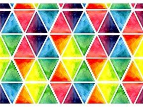 barevné trojůhelníky
