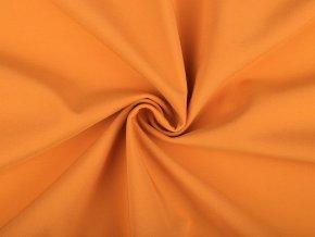 zimní soft oranžovo hořčicová