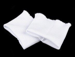 náplety na rukávy bílá