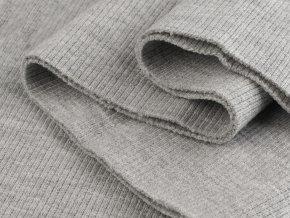 bavlnený nýplet sv. šedý melír