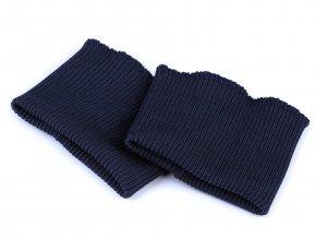 náplety na rukávy modrá tm.