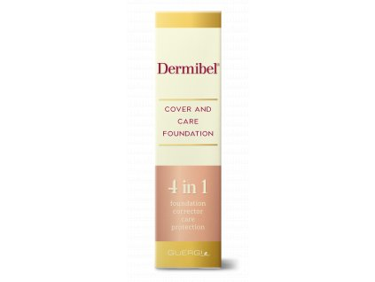 Dermibel foundation box front 3d