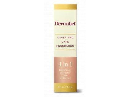 Dermibel foundation box front 3d