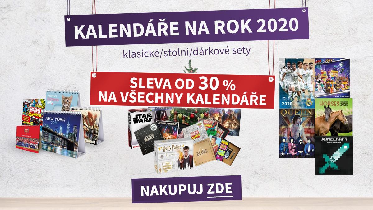 KALENDÁŘE SLEVA