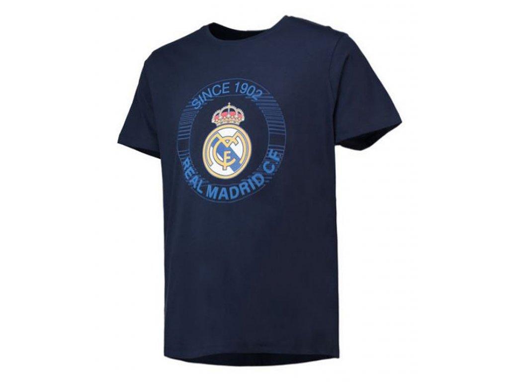Dětské tričko FC Real Madrid marine