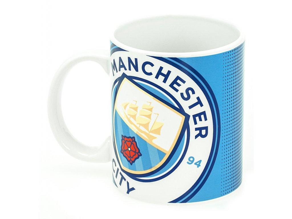 Hrnek Manchester City halftone 350ml