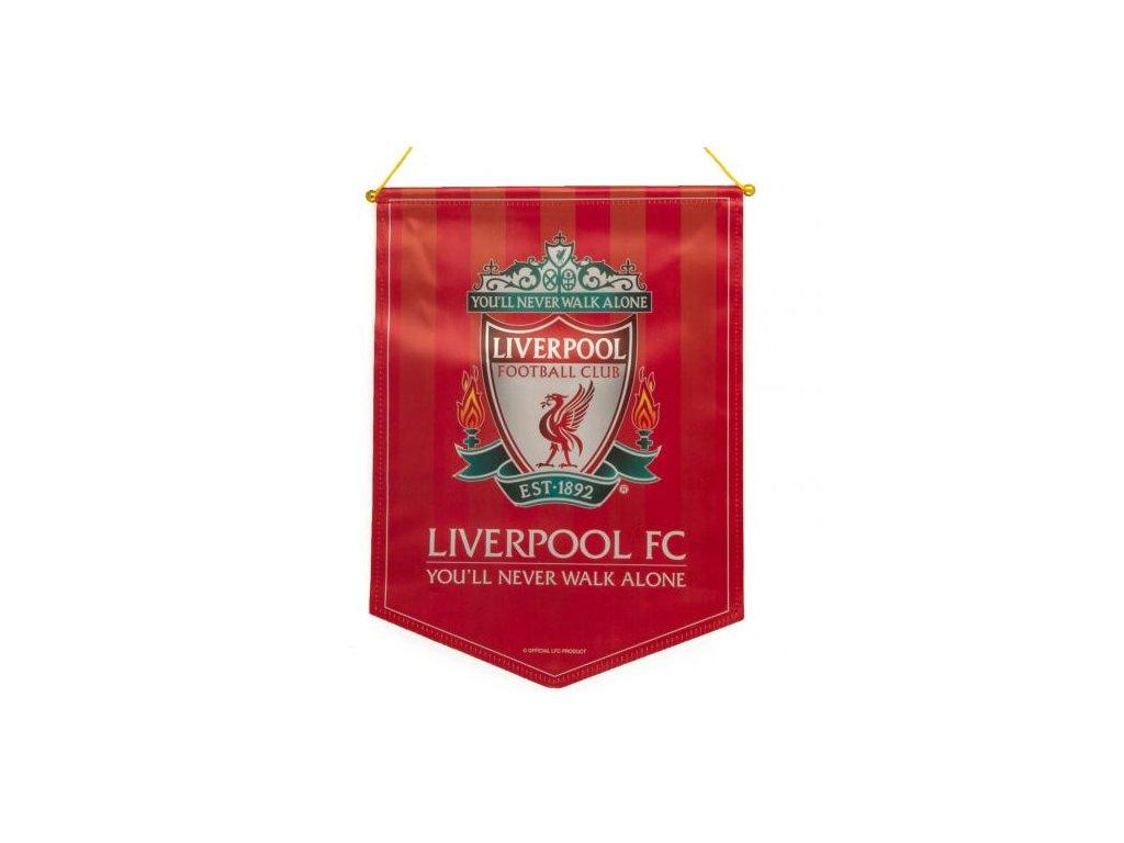 Klubová vlaječka Liverpool FC 32x28 cm TIA