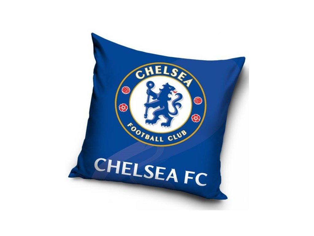Povlak na polštářek Chelsea FC blue 40 x 40 cm