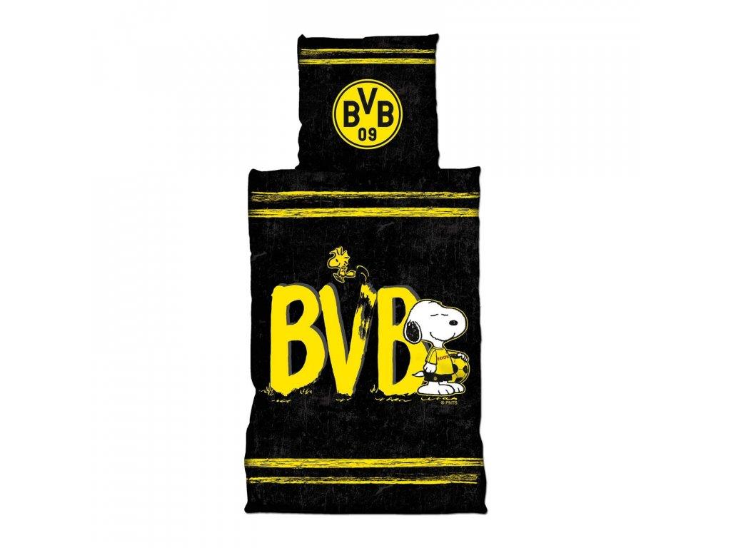 Povlečení Borussia Dortmund 135/200cm Snoopy