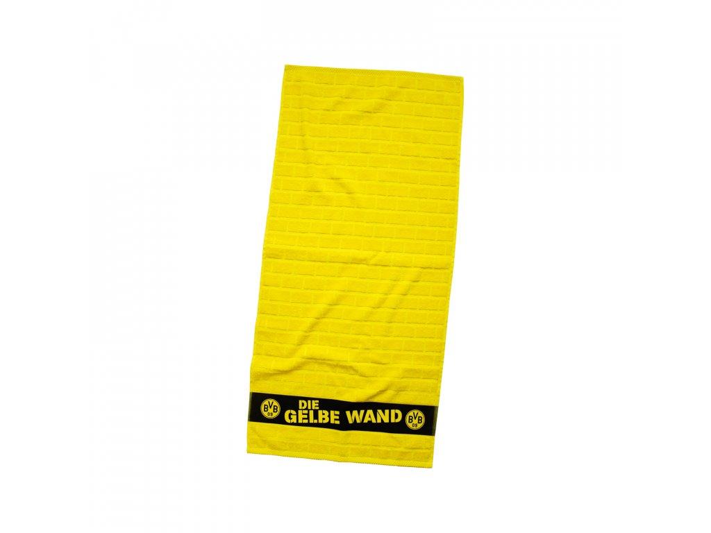Ručník Borrusia Dortmund Yellow 50/100cm