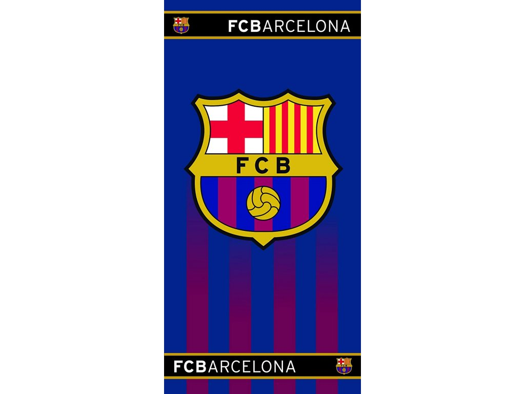 Osuška FC Barcelona 20 halftone 70x140cm