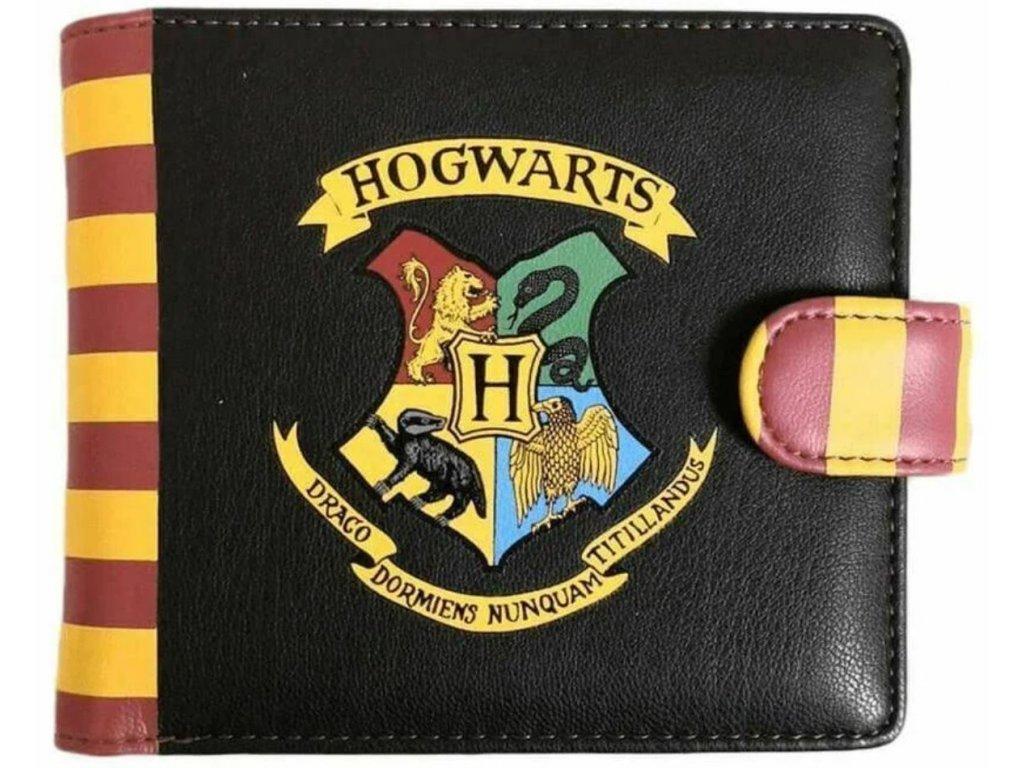 Peněženka Harry Potter: Hogwarts (11 x 9 cm) černá