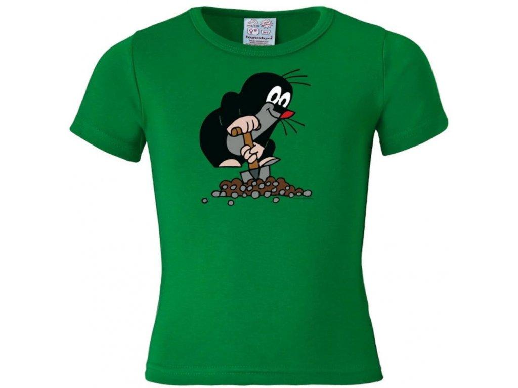 Dětské tričko Krteček:  bavlna