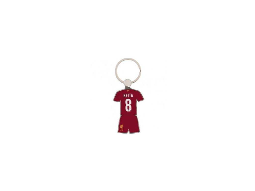 Kovový přívěšek Liverpool FC Keita