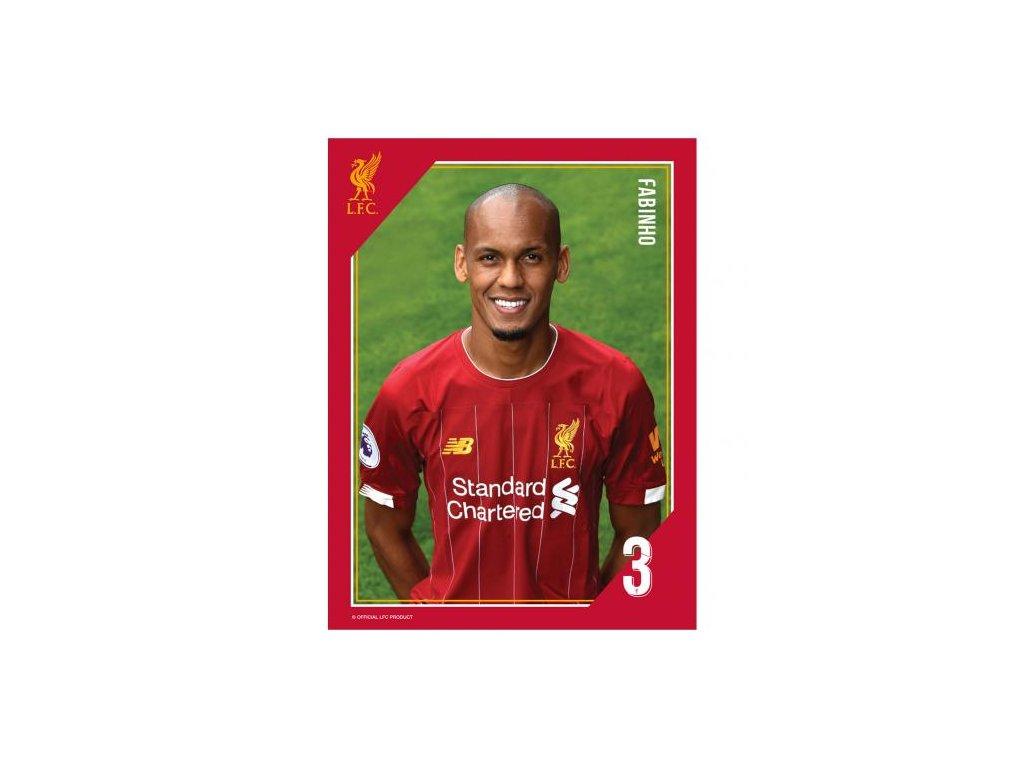 Tištěná fotografie Liverpool 15/20cm Fabinho