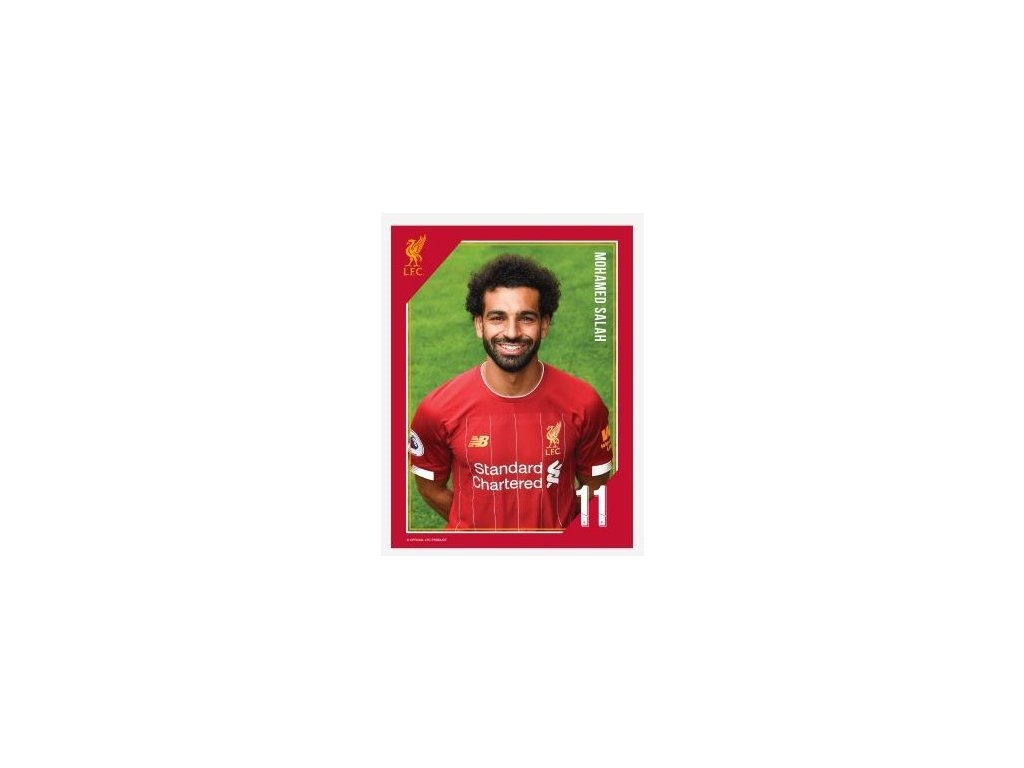 Tištěná fotografie Liverpool 15/20cm Salah