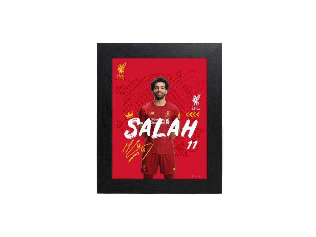 Zarámovaná fotografie Liverpool FC 25x20cm Salah