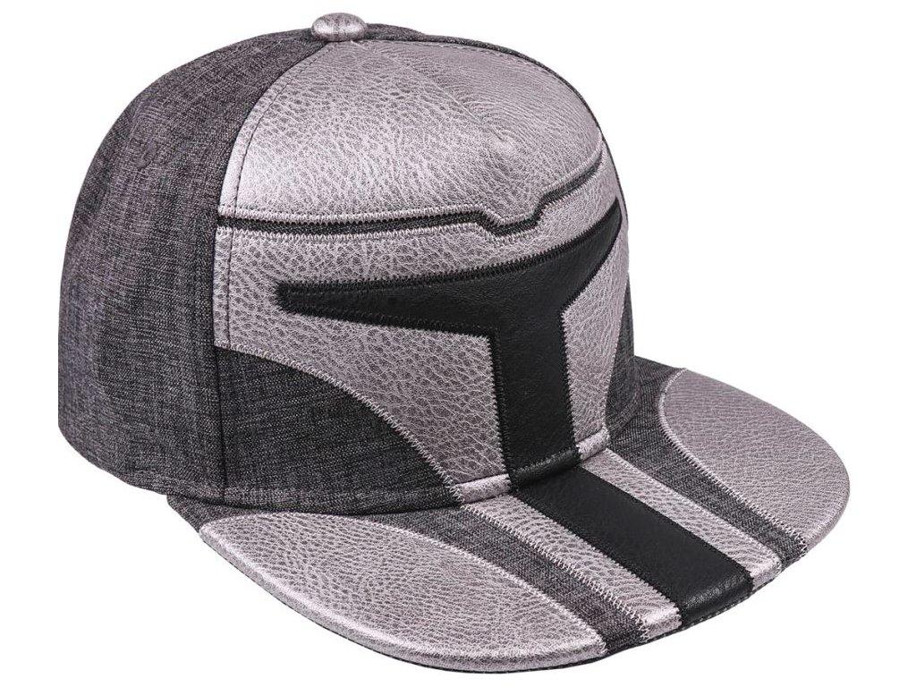 Kšiltovka Star Wars|Hvězdné války: Mandalorian (obvod 58 cm) šedá