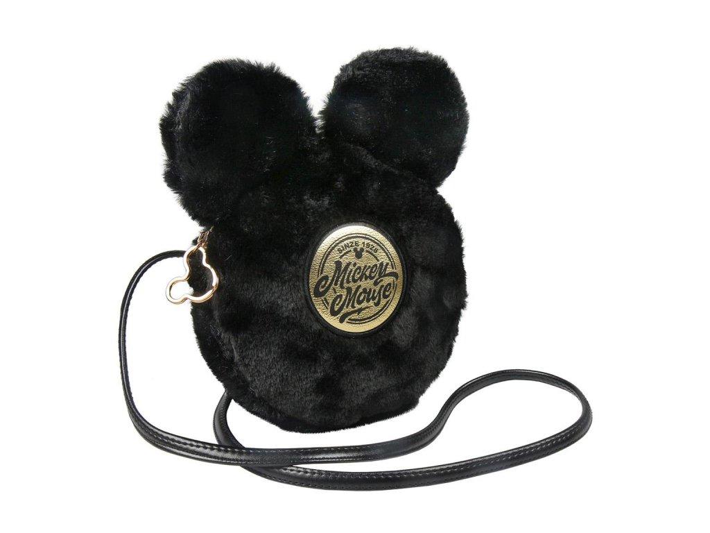 Dámská kabelka na rameno Disney: Mickey Mouse (18 x 18 x 4 cm) černý polyester