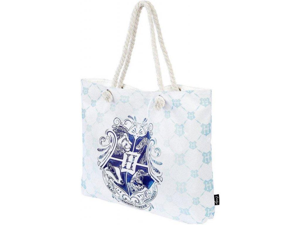 Dámská kabelka na rameno Harry Potter: Hogwarts (52 x 36 x 8 cm) modrý polyester