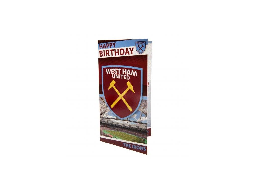Narozeninové blahopřání West Ham