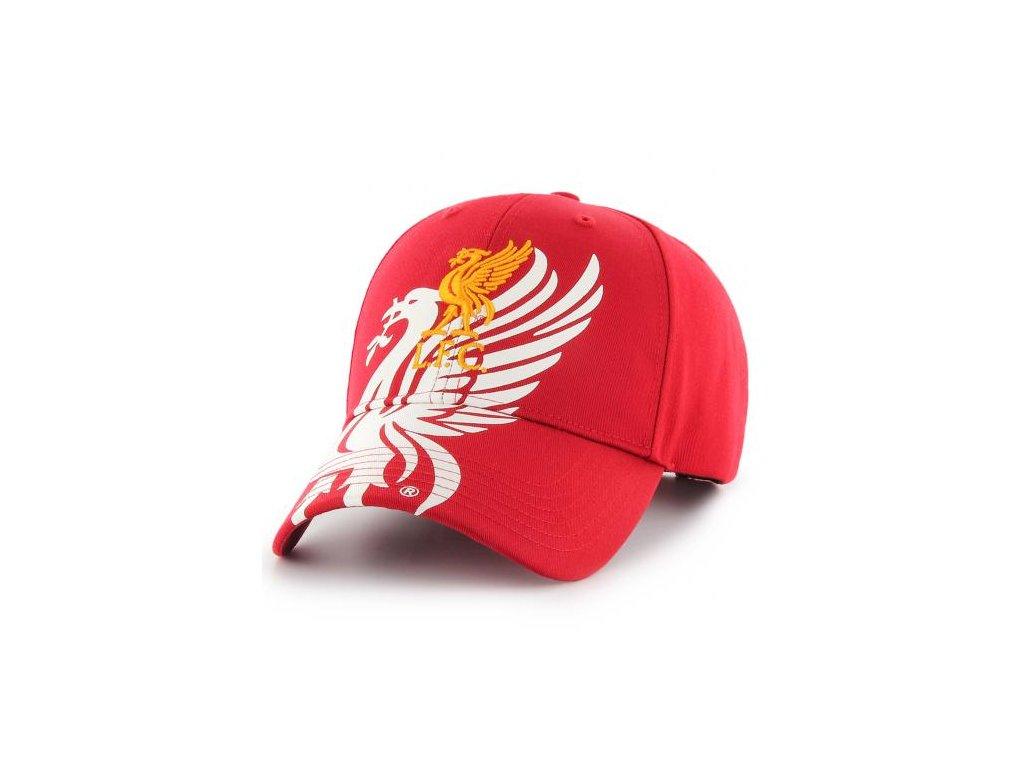 Kšiltovka Liverpool FC Obsidian Red
