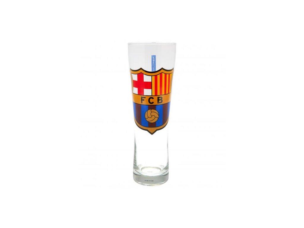 Vysoká pivní sklenice FC Barcelona crest