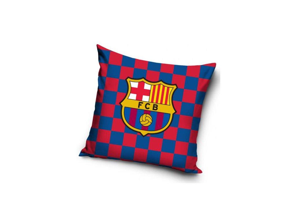 Polštář FC Barcelona: Znak (40 x 40 cm) multicolor