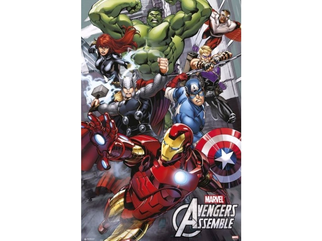 Plakát Marvel Comics: Avengers Assemble (61 x 91,5 cm)