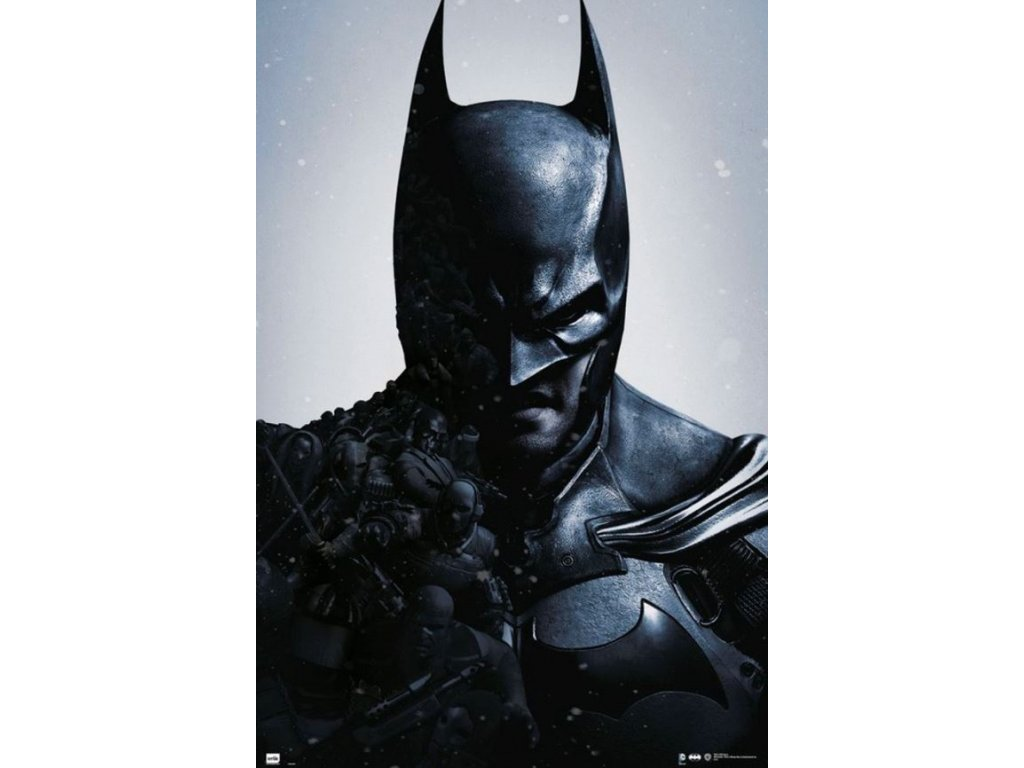 Plakát DC Comics: Batman Arkham Origins (61 x 91,5 cm) 150g