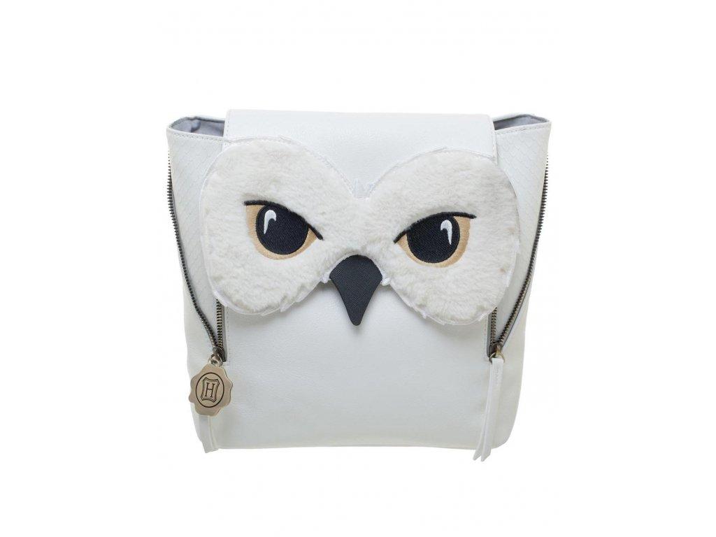 Dámský batoh Harry Potter: Sněžná sova Hedwiga (27 x 28 x 10|objem 7,6 litrů)