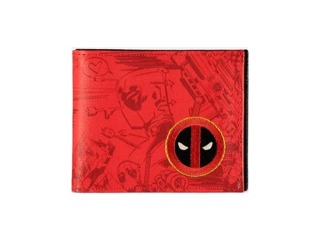Peněženka Marvel: Deadpool (11 x 9 cm) polyuretan