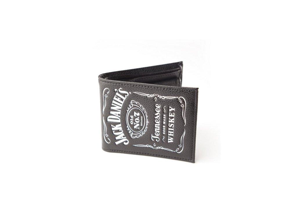 Peněženka Jack Daniel's: Classic logo (17,5 x 10,5 cm) černá