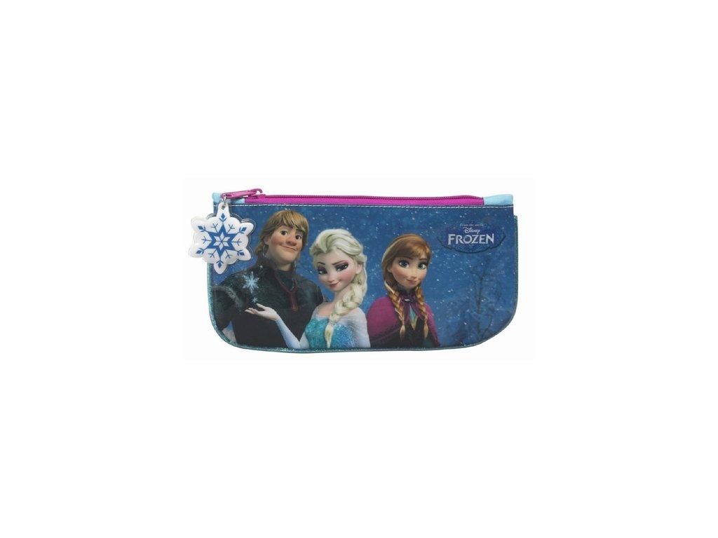 Penál na školní potřeby Frozen|Ledové království: Flat (23 x 11 cm) polyester