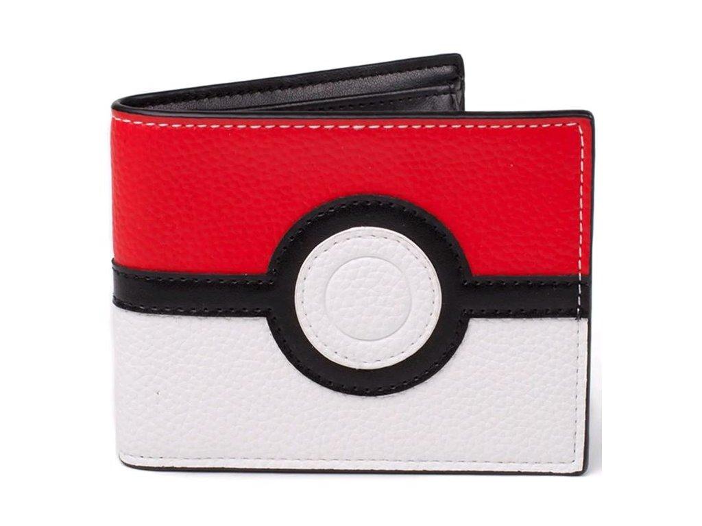 Peněženka Pokémon: Pokeball (11,5 x 9 cm) multicolor polyuretan