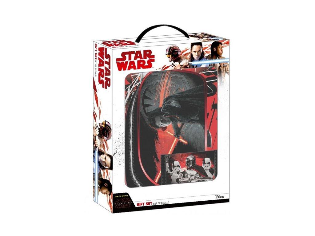 Dárkový set Star Wars|Hvězdné Války: Peněženka - A4 blok - necesér (balení 28 x 35 x 6 cm)