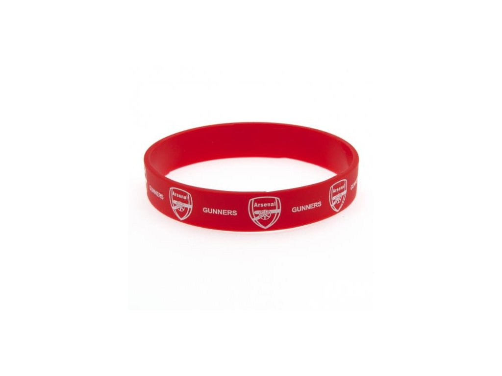Silikonový náramek: FC Arsenal (průměr 7 cm)