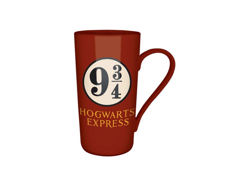 Keramický latte hrnek Harry Potter: Platform 9 3|4 (objem 500 ml)