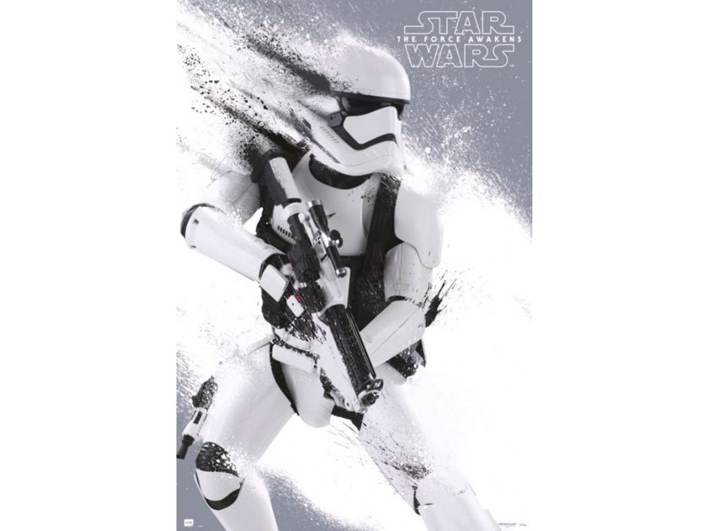 Plakát Star Wars|Hvězdné války: Stormotrooper (61 x 91,5 cm) 150g