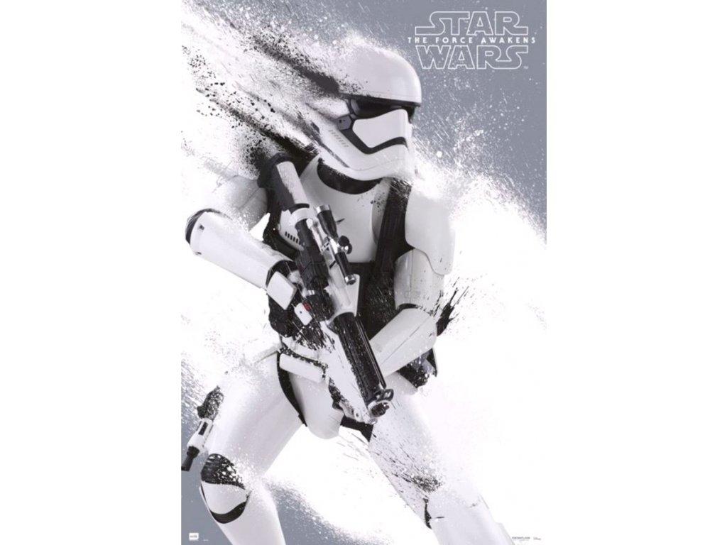 Plakát Star Wars Hvězdné války: Stormotrooper (61 x 91,5 cm) 150g