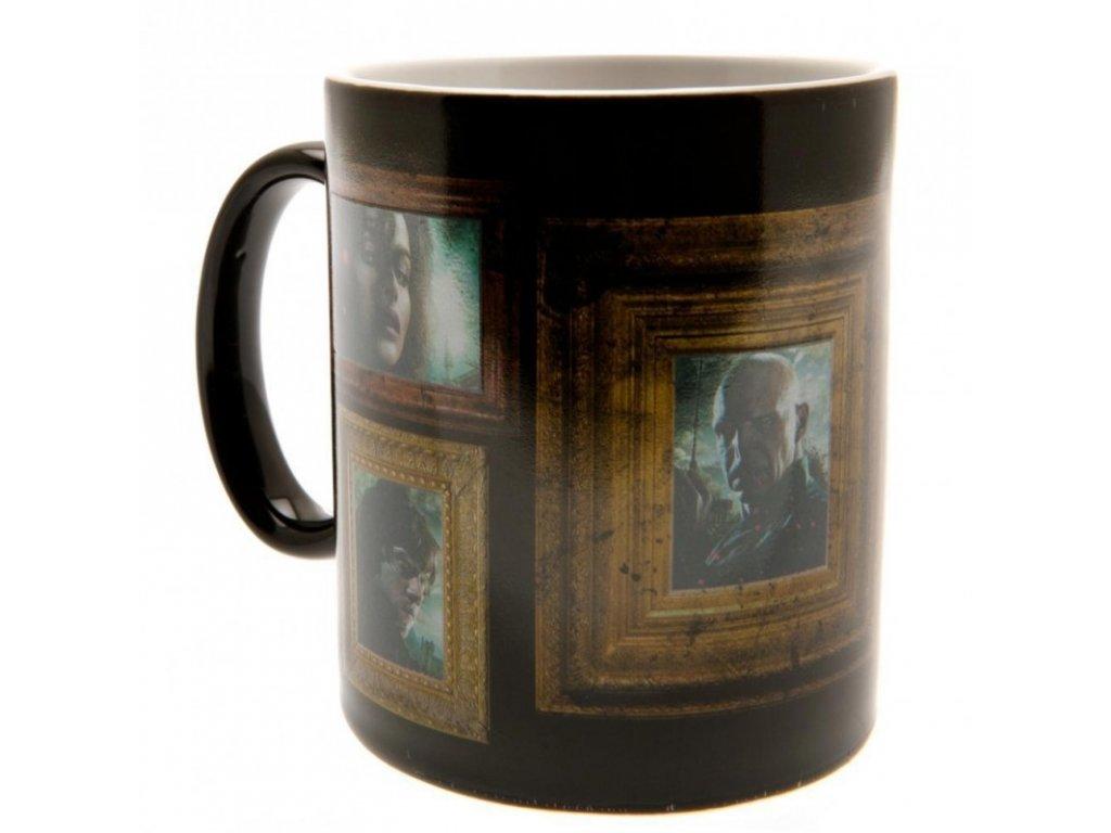 Černý proměňovací keramický hrnek Harry Potter: Portraits (objem 300 ml)