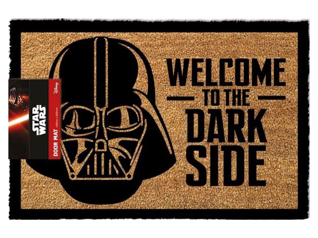 Rohožka Star Wars|Hvězdné války: Welcome to the Dark Side (60 x 40 cm) hnědá