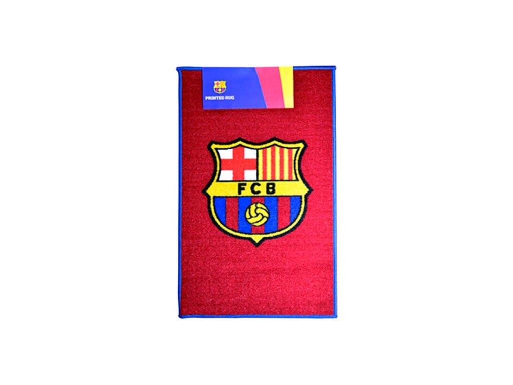 Kobereček FC Barcelona: Znak (80 x 50 cm) vínový polyamid