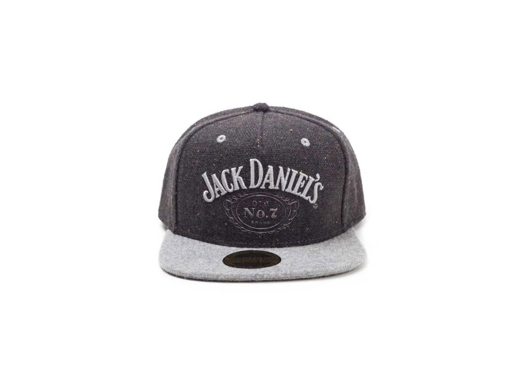 Kšiltovka Jack Daniel's: Rap Old No.7 (nastavitelná)