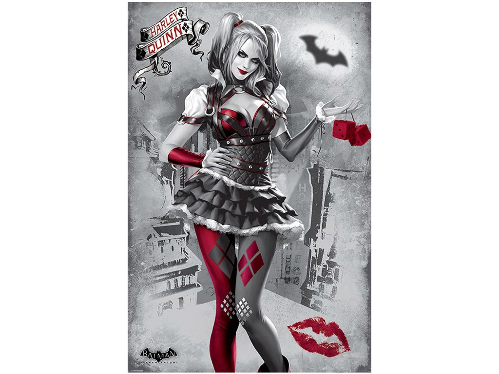 Plakát DC Comics|Batman Arkham Knight: Harley Quinn (61 x 91,5 cm)