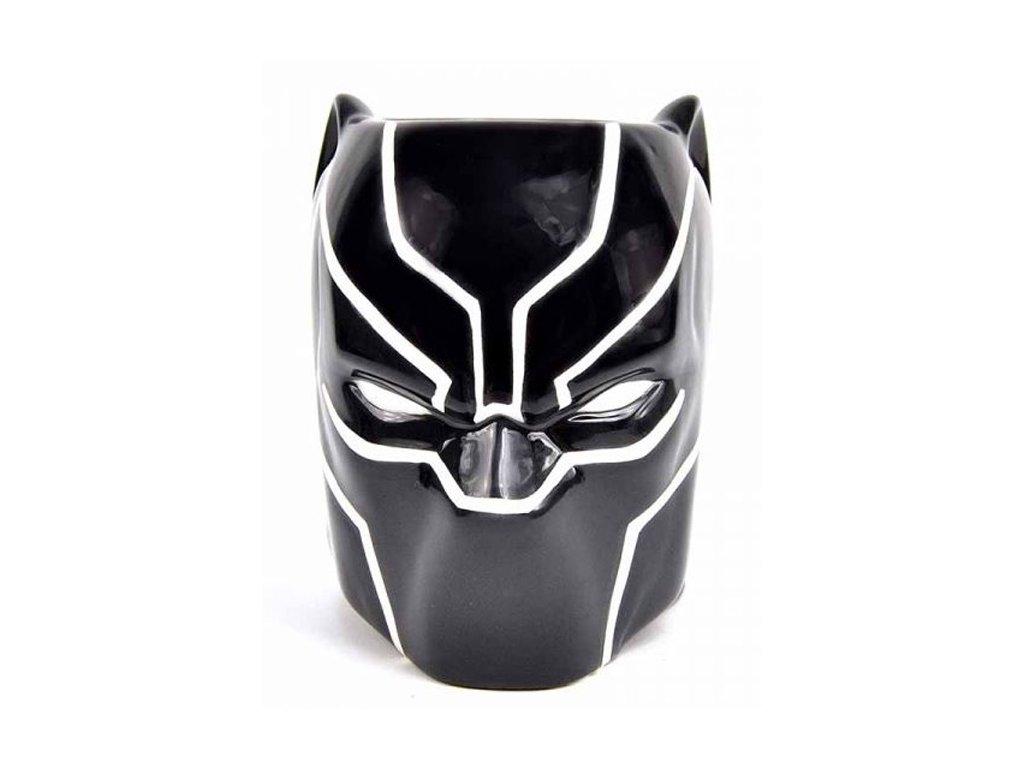 3D keramický hrnek Marvel: Black Panther (objem 600 ml)