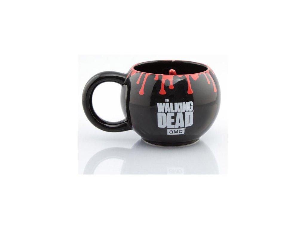 Keramický 3D hrnek The Walking Dead: Walker Hand (objem 400 ml) černý