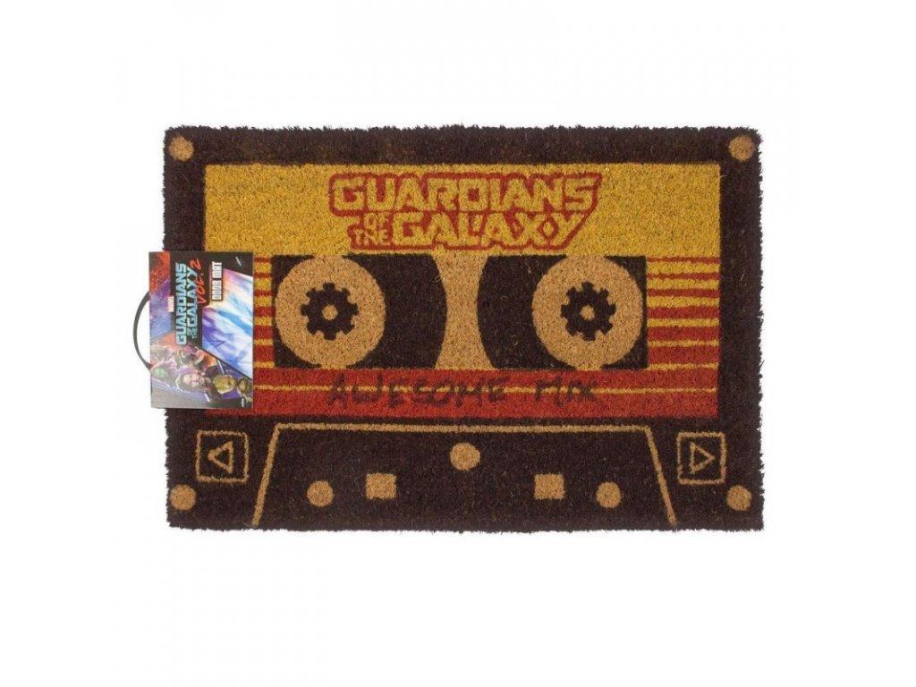 Rohožka Guardians Of The Galaxy|Strážci galaxie: Awesome Mix (60 x 40 cm) černá