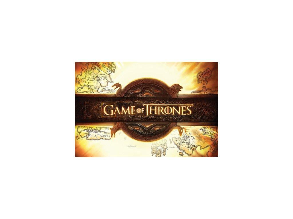 Plakát Game of Thrones|Hra o trůny: Logo (61 x 91,5 cm)